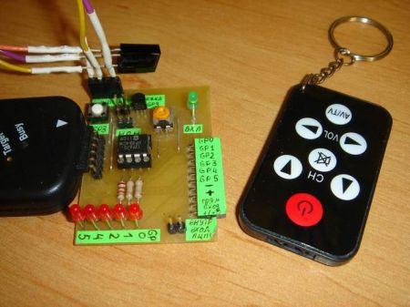 Простейший пульт дистанционного управления своими руками