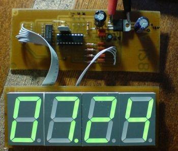 Схема электронных часов своими руками фото 912
