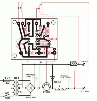 зависит КПД схемы зарядных