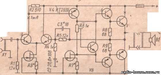 Вместо транзистора типа КТ808А
